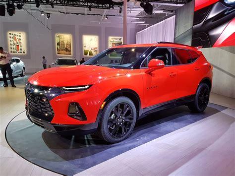 The Allnew 2019 Chevrolet Blazer Unveiled In Atlanta