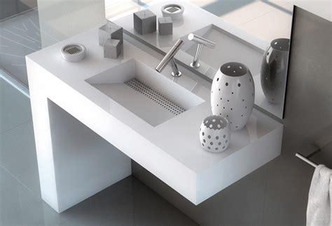 Bathroom Sink Trough