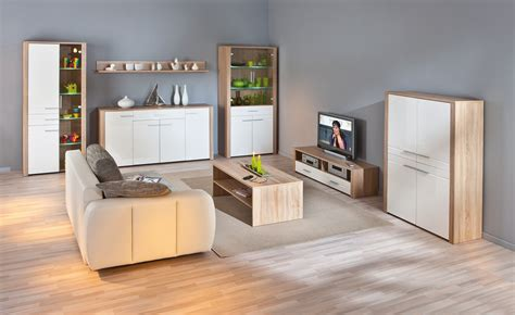 echourouk tv cuisine meuble tv contemporain chêne sonoma blanc laqué sylvano ii