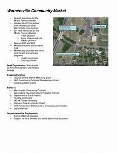 Warnersville Healthy Community Project Proposal