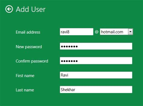 how to create a windows 8 user using windows live id techtin