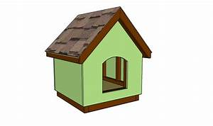 Small Dog House Plans | MyOutdoorPlans | Free Woodworking ...