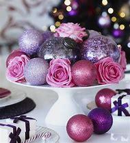 Purple Christmas Decorations Ideas