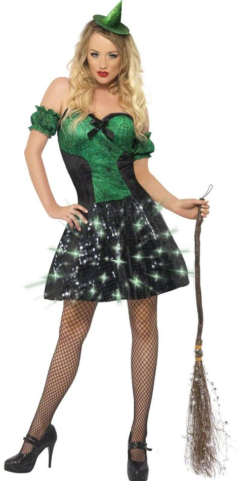 light up costumes fever witch light up costume 24154 fancy