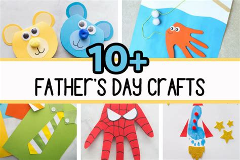 fathers day crafts   ideas  kids