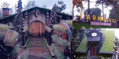 Farm Rumah Lembang Wisata Hobbit Farmhouse Bandung