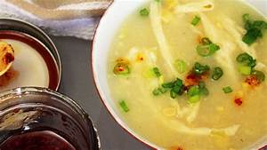 Chinese Cream Corn Soup // Vegan Egg Drop Soup Mary's