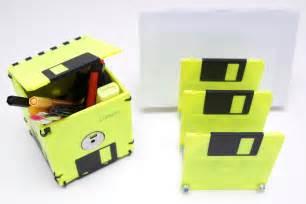 3 5 zoll diskette floppy 3 5 zoll floppy disk set in neon gelb und schwarz box briefsortierer floppy