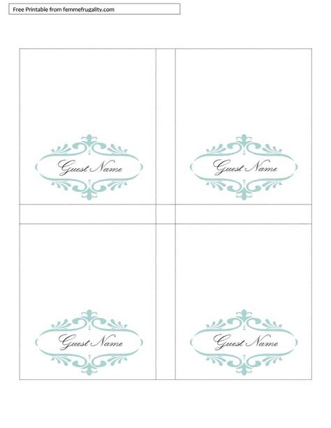 4x6 table tent template free printable table tents template brokeasshome com