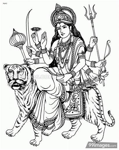 Durga Maa Devi Clipart God 1080p 99images