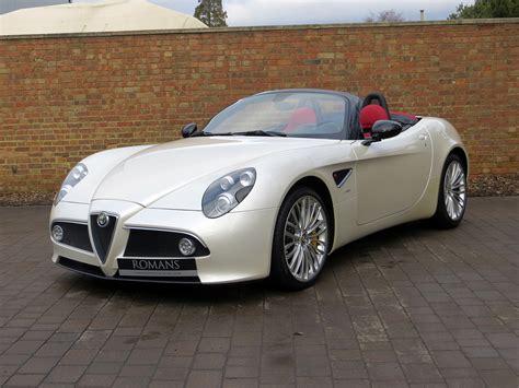 2010 Alfa Romeo 8c Spider Capacity Info