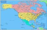 North America Map - TravelQuaz.Com