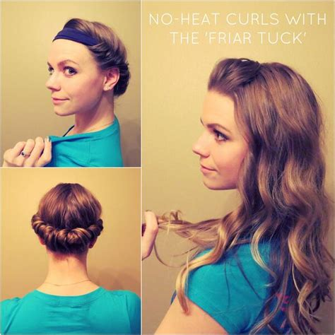 No Heat Hairstyles For Hair by Overnight Wavy And Curly Hairstyles Hairstyles