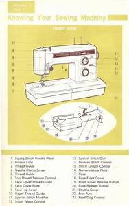 Kenmore 158 19410 Sewing Machine Instruction Manual