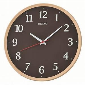 Horloge Murale Silencieuse : horloge murale effet bois avec trotteuse silencieuse ~ Melissatoandfro.com Idées de Décoration