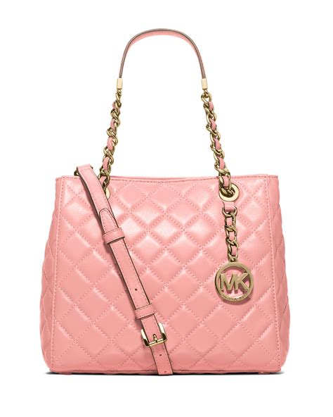 michael kors quilted bag michael michael kors susannah small quilted tote bag in