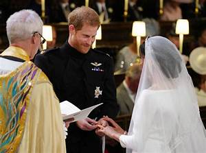 see a close up of prince harry and meghan markle39s wedding With prince harry wedding ring