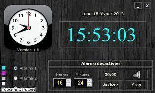 horloge de bureau pc horloge et calendrier pour ordinateur gratuit