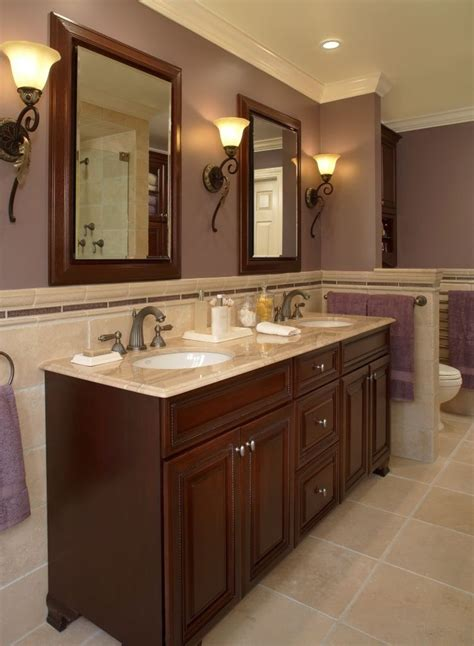 bathroom cabinetry ideas dazzling chair rail height method other metro traditional
