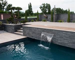 amenagement piscine With nice amenagement petit jardin avec piscine 3 nos realisations de jardin et amenagement dexterieur en