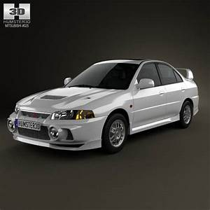 Mitsubishi Lancer Evolution 1997 3d Model For Download In