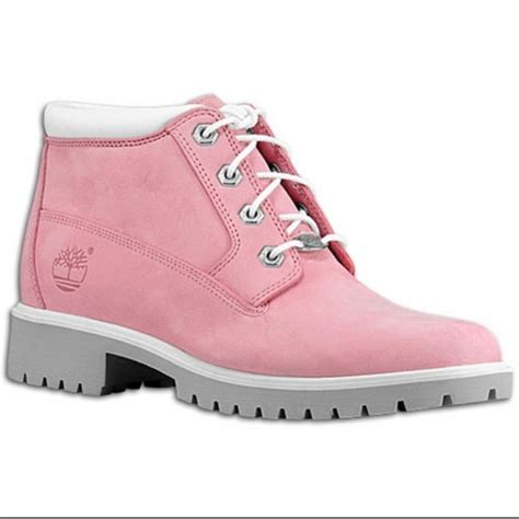 Timberland Boat Shoes Pink by Timberland Shoes Pink Nellie Chukka Boots Poshmark
