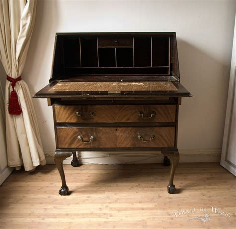 shabby chic writing desk shabby chic writing desk bureau no 15 touch the wood