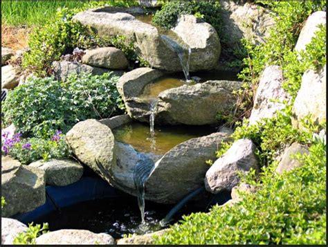 naturstein wasserspiele garten bauen sie ihr eigenes design der wasserfall und teich garten