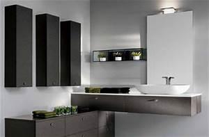 meuble salle de bain haut de gamme italien With salle de bain design avec meuble haut salle de bain castorama