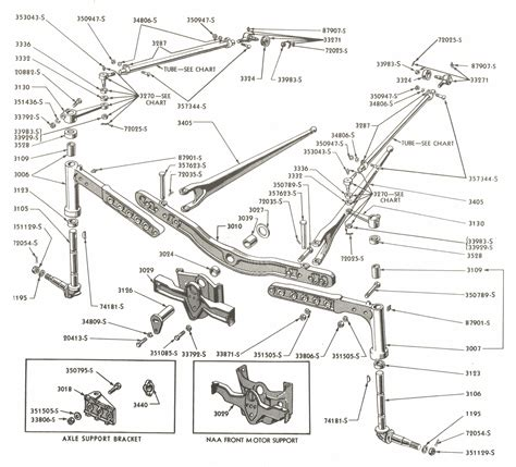 Ford Tractor Parts Diagram Rear End Auto