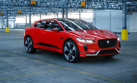 2018 Jaguar I-pace Will Debut In Frankfurt
