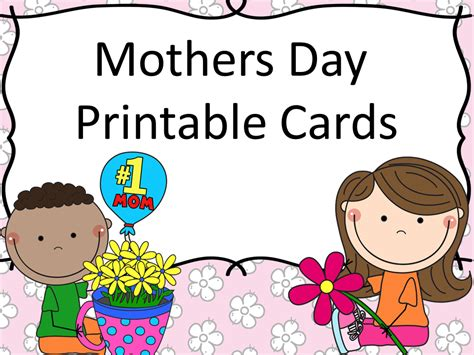 s day card templates for preschoolers s day printable cards read with a child mothers