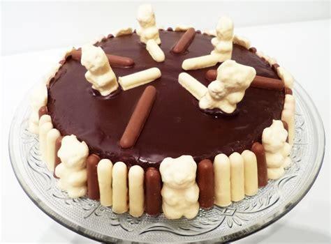 recette de cuisine pour anniversaire gâteau d 39 anniversaire bisounours la recette facile par