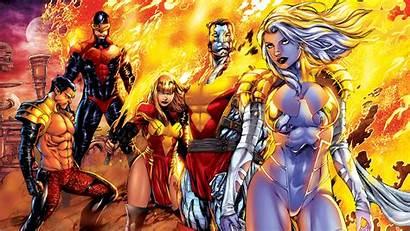 Phoenix Comics Emma Frost Marvel Colossus Cyclops