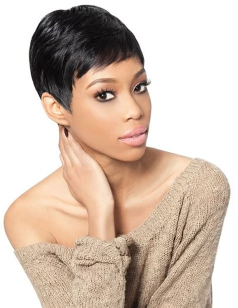 short pixie lace front hairstyles  black women