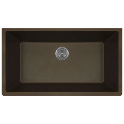 mr direct kitchen sinks reviews mr direct undermount quartz 32 625 in 0 single bowl 7049