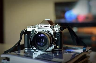 Nikon Camera Lens Wallpapers Gray Windows Close