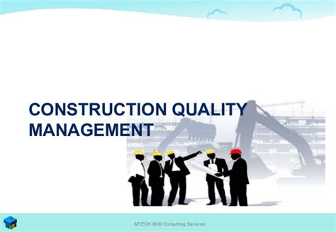 total construction quality management  leading ict