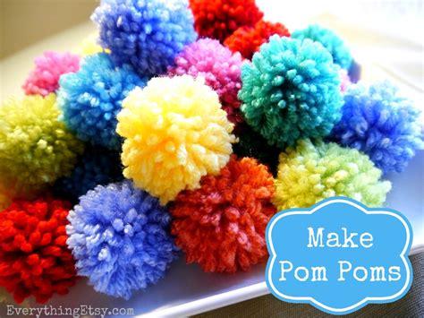How To Make A Pom Pom Diy Fun
