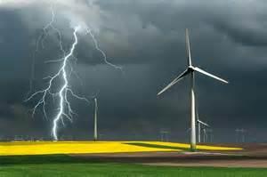 Storm Lightning Strikes Texas