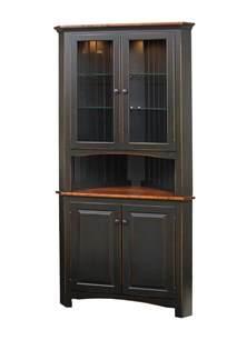 amish kitchen islands shaker corner cabinet peaceful valley amish furniture