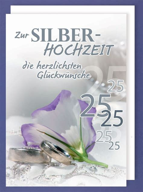 riesen grusskarte silberhochzeit  avanstyle maxi