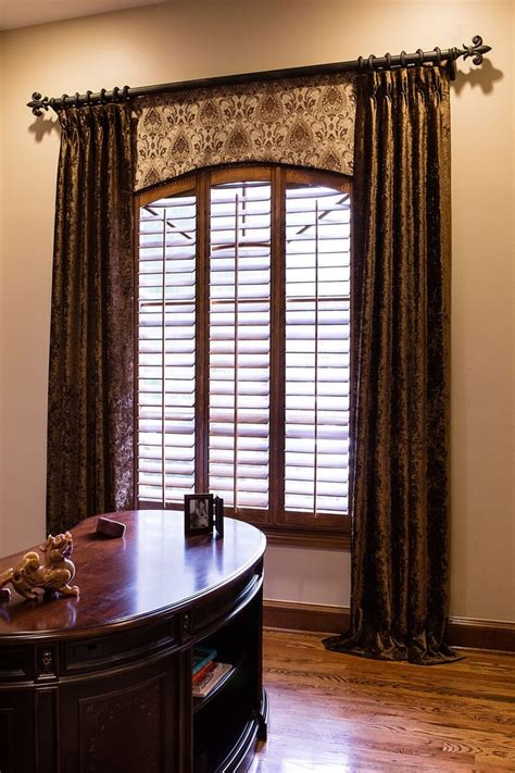 images  arch window treatments  pinterest