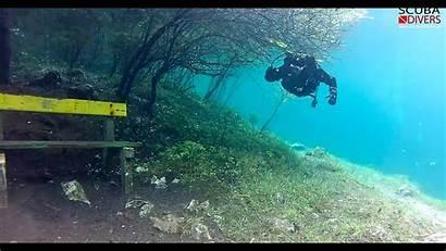 Scuba Lake Austria Dive Diving Underwater Park