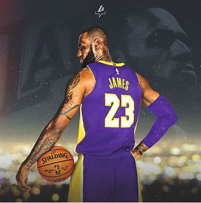 Lebron Lakers James Nba Wallpapers Angeles Jersey