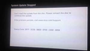 Xbox 360 System Update Error 397f