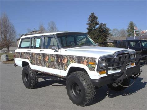jeep wagoneer lifted 1983 jeep wagoneer limited 6 500 possible trade