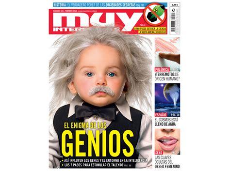 Revista Muy Interesante de febrero: El enigma de los genios