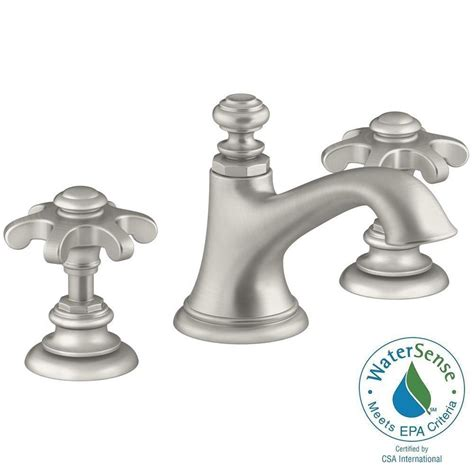 Home Depot Kohler Artifacts Kitchen Faucet by Kohler Artifacts 8 In Widespread 2 Handle Bell Design
