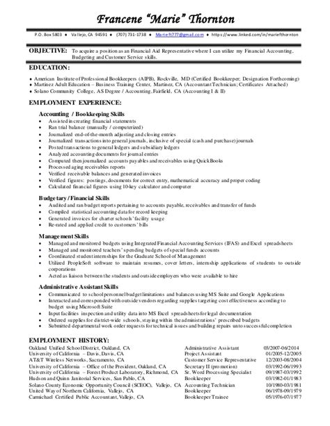 financial aid representative cover letter financial aid resume resume ideas